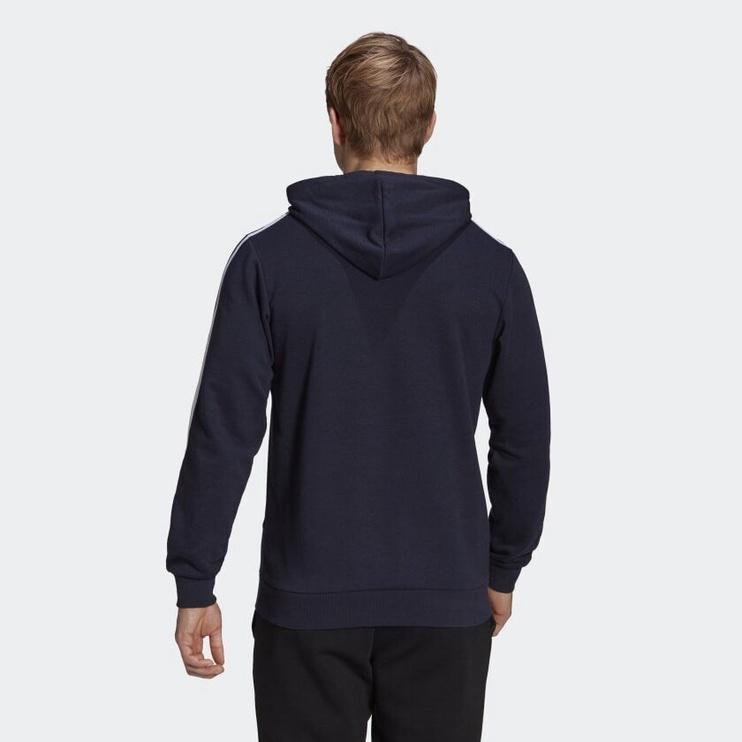 Джемпер Adidas Essentials 3 Stripes Hoodie GK9081 Blue M