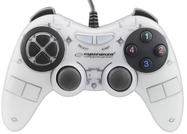 Esperanza Fighter USB Gamepad White