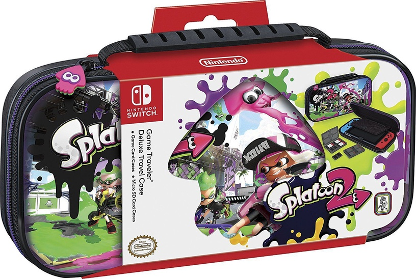 Nintendo Game Traveler Deluxe Travel Case Splatoon 2