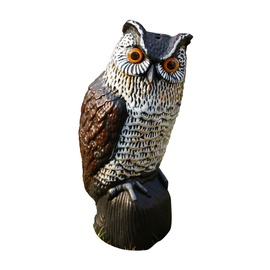 Owl Solar R025 Decoration 20x18x43cm
