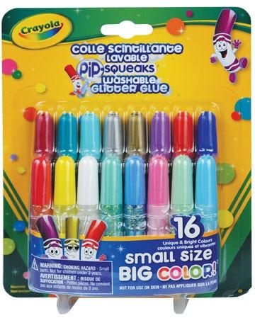 Crayola Washable Glitter Glue 16pcs