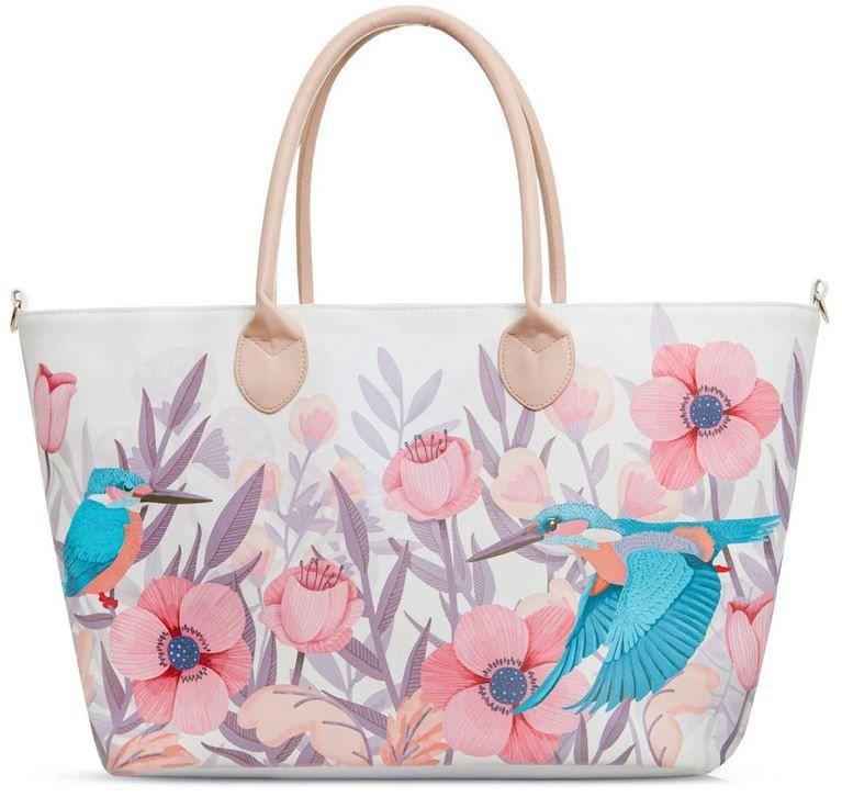 Сумка KinderKraft Shopper Bag Mommy White
