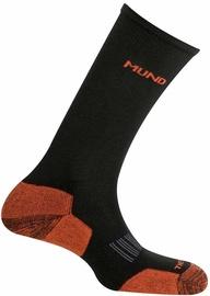 Mund Socks Cross Country Skiing Black/Orange 42-45