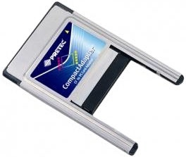 Pretec PCMCIA CompactFlash Type II Adapter