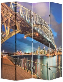 Ширма VLX Folding Room Divider Sydney Harbour Bridge, многоцветный, 160 см x 170 см