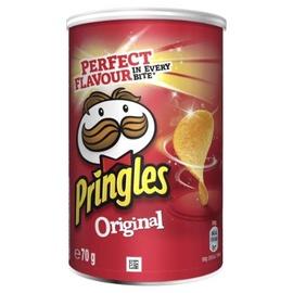 Traškučiai Pringles Original, 70 g.