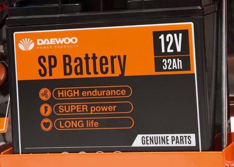 Генератор Daewoo GDA 8500E, 7000 Вт