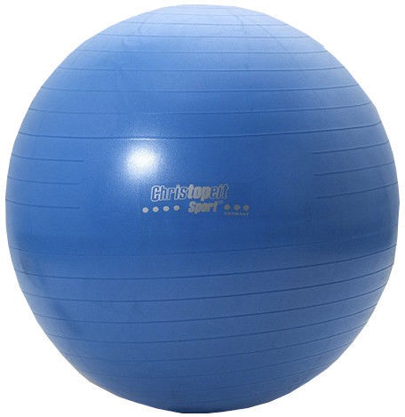 Christopeit Gymnastics Ball Blue 75cm