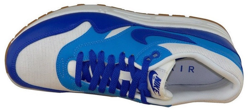 Nike Sneakers Air Max 1 Vntg 555284-105 Blue 36.5