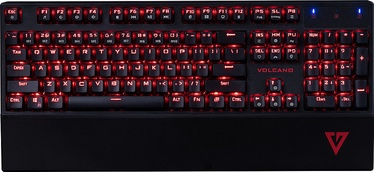 Modecom Volcano Gamer Gaming Keyboard US Black