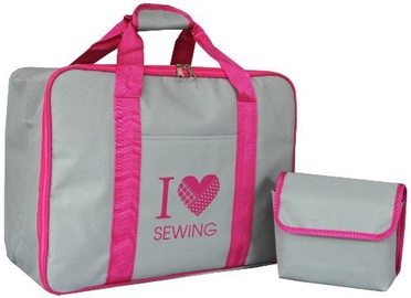 Toyota Sewing Machine Bag Gray / Pink