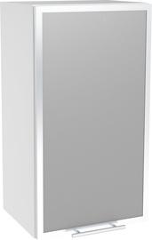 Верхний кухонный шкаф Halmar Left Vento GV 40/72 White, 400x300x720 мм