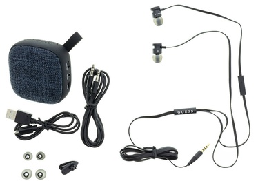 Guess Bluetooth Speaker System + Headsets Black
