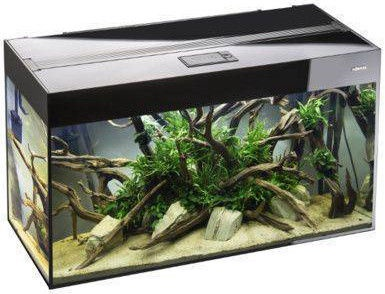 Akvariumas Aquael Glossy, juodas, 125 l