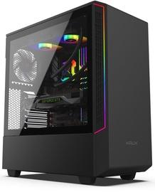 Krux Glow ATX Mid-Tower Black