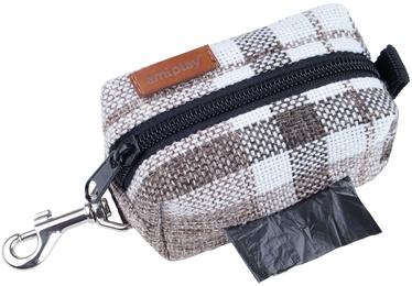 Amiplay London Waste Bags Dispenser 9x5x4cm Brown