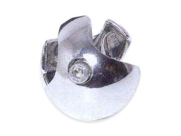 Terastoru kolmik kroom parem 25 mm