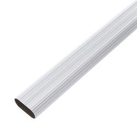 Spintos skersinis HA13A, chromo spalvos, 30 x 15 x 1000 mm