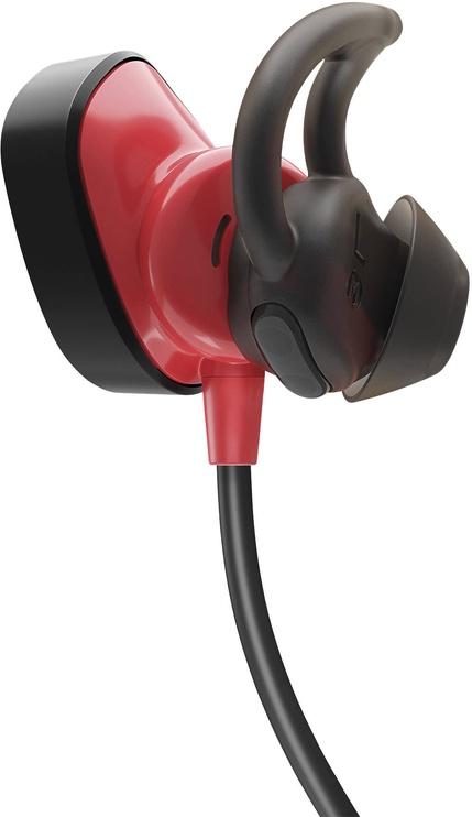 Ausinės Bose SoundSport Pulse Wireless Earphones Black/Red