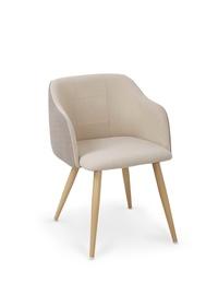 Kėdė Halmar K-288, medžio ir smėlio spalvų