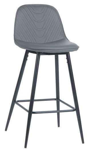 Signal Meble Teo H-1 Bar Stool Grey/Black