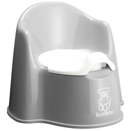 BabyBjorn Potty Chair Grey 055125A