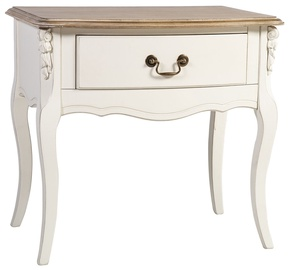 Naktinis staliukas Home4you Elizabeth 74798 Antique White