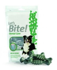 Našķis suņiem Brit Let's Bite Dental Care Brush Bone 90g