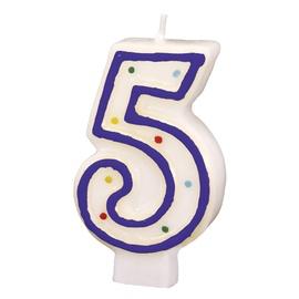 Свеча на день рождения Amscan 5