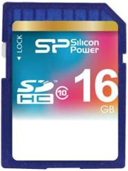 Silicon Power 16GB SDHC CARD CLASS 10