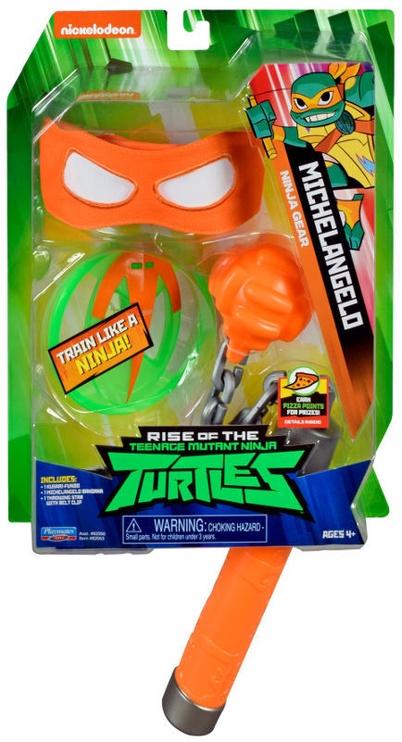 Playmates Toys Teenage Mutant Ninja Turtles Michelangelo Ninja Gear 82053
