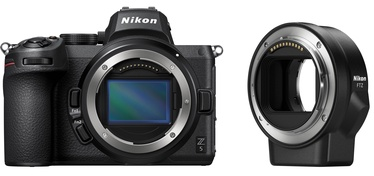 Nikon Z5 Body + FTZ Adapter Black