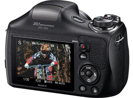 Digifotoaparaat Sony DSC-H300 Black