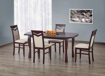 Pusdienu galds Halmar Henryk Dark Walnut, 1600 - 2000x800x750 mm
