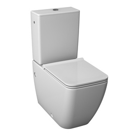 Tualetes pods WC Jika Pure, balts, bez vāka