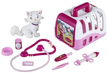 Klein Princess Coralie Vet's Case Set With Cat And Accessories 4821