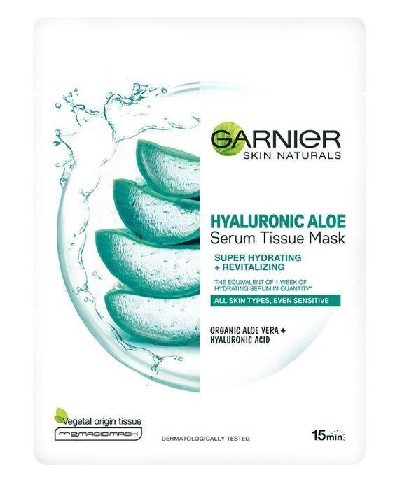 Garnier Skin Naturals Hyaluronic Aloe Serum Tissue Mask 28g
