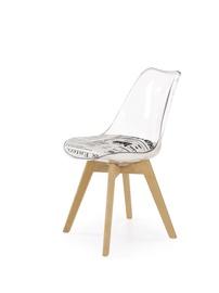 Valgomojo kėdė Halmar K246 Transparent/Beech