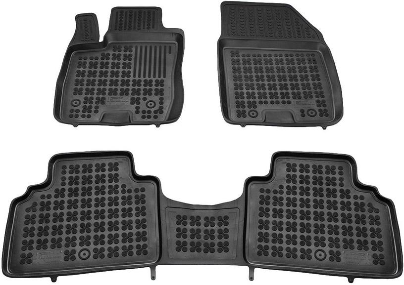 REZAW-PLAST Ford Tourneo Courier 2014 Rubber Floor Mats