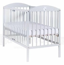 Drewex Lisek Bed 120x60cm Gray