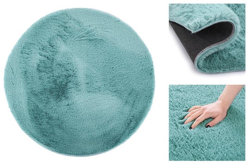 Paklājs AmeliaHome Lovika, zila, 200x200 cm