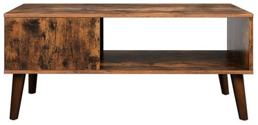Songmics Coffee Table Brown 100x50x45cm