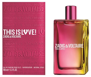 Parfüümvesi Zadig & Voltaire This Is Love For Her 100ml EDP
