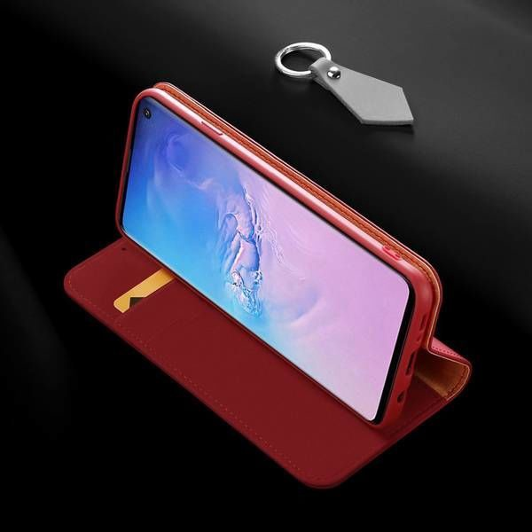 Dux Ducis Skin Pro Bookcase For Samsung Galaxy S10 Plus Red