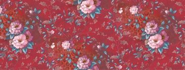 Клеёнка Sanem Moderno, красный/многоцветный, 1000 мм x 1400 мм