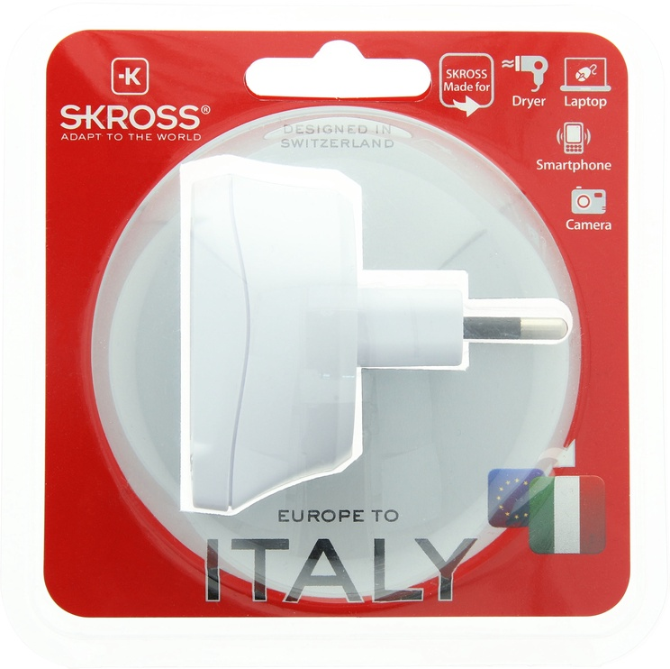 Skross Country Adapter Europe to Italy 1.500212