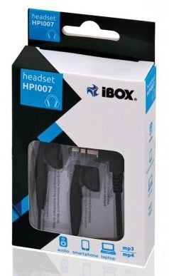Ausinės iBOX HPI 007 Earphones Black