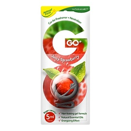 Automobilių oro gaiviklis Natural Fresh GO Juicy Strawberry