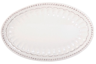 Home4you Pearl Oval Serving Plate 39x26cm