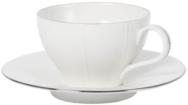 Quality Ceramic Bliss Platinum Tea Cup 230ml